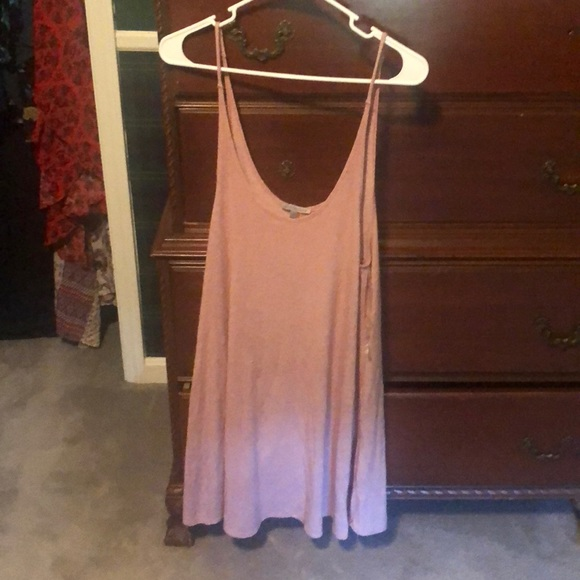 Charlotte Russe Tops - Charolette Russe dusty pink tunic size L
